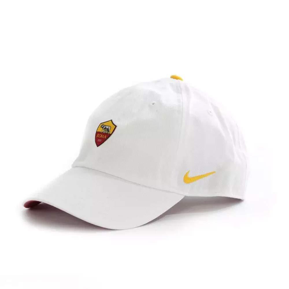 Nike 2018-2019 Roma H86 Core Cap (White) White/Team Crimson/University Gold One Size 881720-100