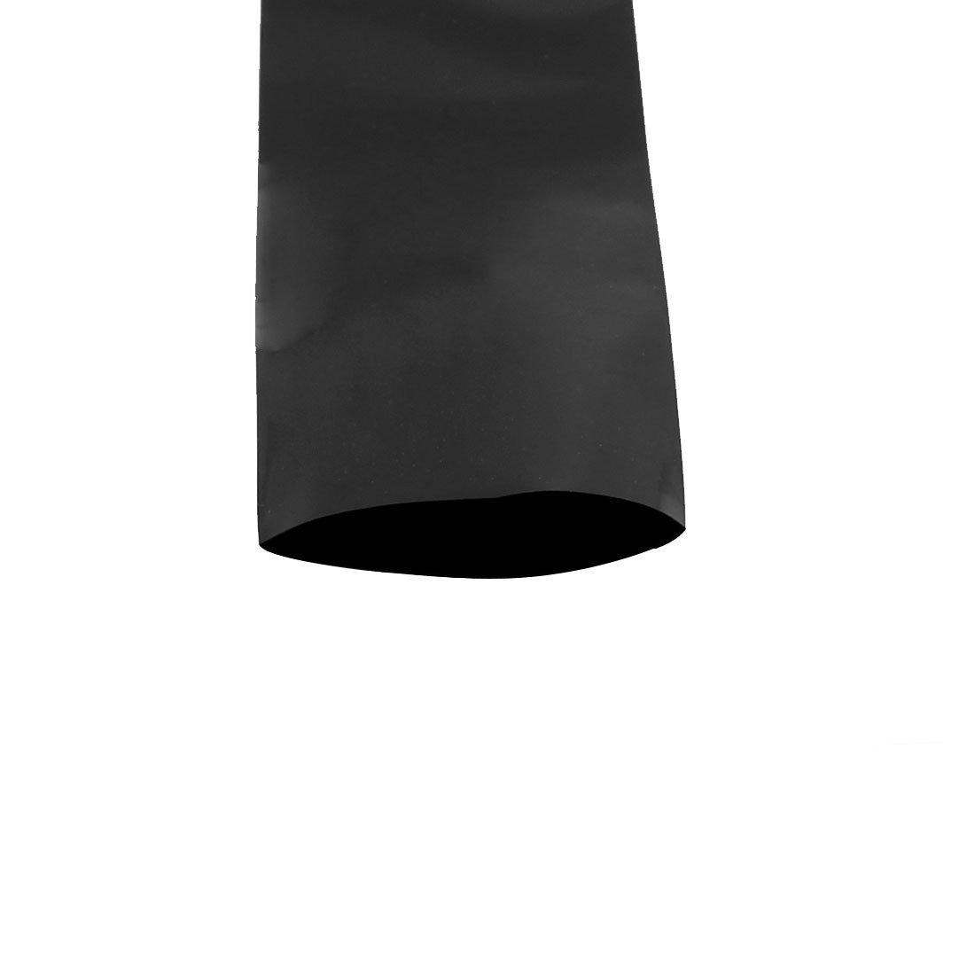 eDealMax 60 mm Placa Grande 3,5 m Longueur PVC Termoretractables Tubo Noir Pour 18650 bater/ía