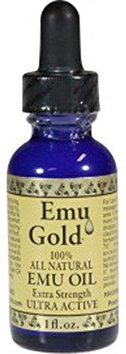 Emu Gold Emu Oil Pure Grade Ultra 1 Oz