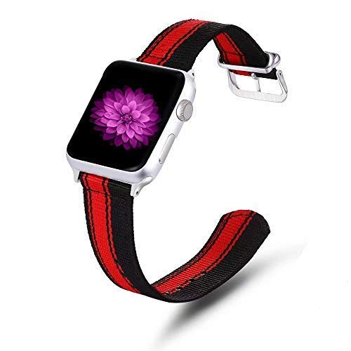 Cellfather™ Woven Nylon Strap i Band Compatible for iwatch 40mm