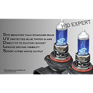 Tutti Racing H10/9145 55W pair Fog Light Xenon HID Super White Replacement Bulbs