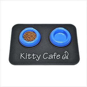 well-wreapped Kitty Café Pet Placemat