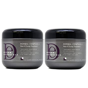Design Essentials Herbal Complex 4 Hair & Scalp Treatment Net Wt. 4 Oz. /
