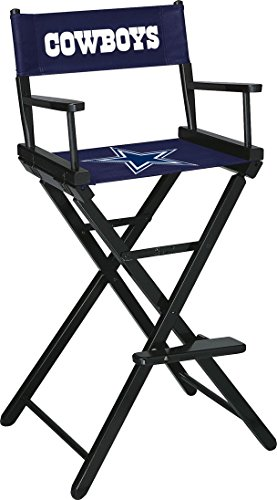 Imperial Officially Licensed NFL Merchandise: Directors Chair (Tall, Bar Height), Dallas Cowboys (Custom Director's Chair)