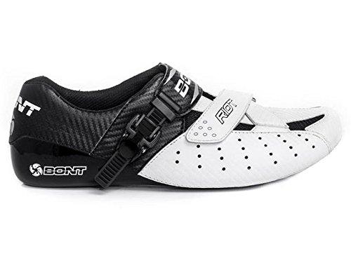 Bont Unisex Scarpe Ciclismo Da Strada Per Adulti Vaypor + Scarpe Da Ciclismo Bianco (bianco-nero Bianco-nero)