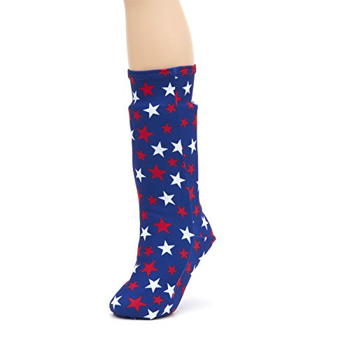 CastCoverz! Fashionable Leg Cast Cover - USA Pride - Medium Short - Below The Knee - Protective, Decorative and Washable - Made in USA