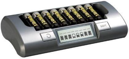 Amazon.com: Maha Powerex MH-C800S 8-Cell inteligente ...