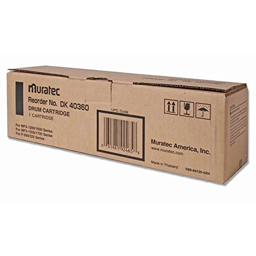 (Wholesale CASE of 3 - Muratec DK40360 Fax Drum-Drum Cartridge,for F320/360/MFX 1200/1600,16000 Page YIeld)