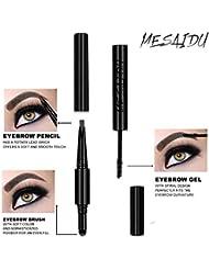 Mesaidu 3-in-1 Eye Makeup Eyebrow Pencil, Blender, Brush...