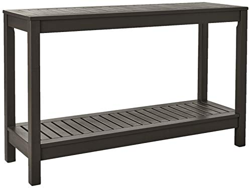 Cambridge-Casual 225350 Alfresco Console Table, Dark Grey (Outdoor Mahogany Sofa)