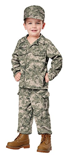 [California Costumes Soldier Costume, One Color, 4-6] (Usa Costume For Kids Boys)