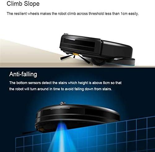 ZXL Balayeuse Intelligente d\'aspirateur de Robot/stérilisation Anti-Goutte/UV/à Faible Bruit/Robot de Balayage pour Le Nettoyage de Cheveux de tuile de Tapis de Plancher en Bois