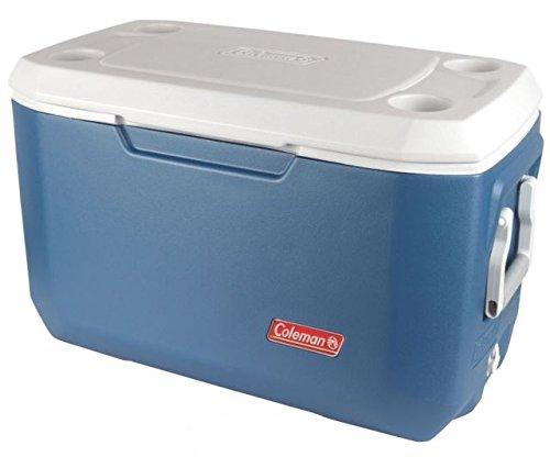Coleman 70 Quart Xtreme 5 Cooler, OMLD 5884, Blue, Holds 100 (Cooler Holds 70 Cans)