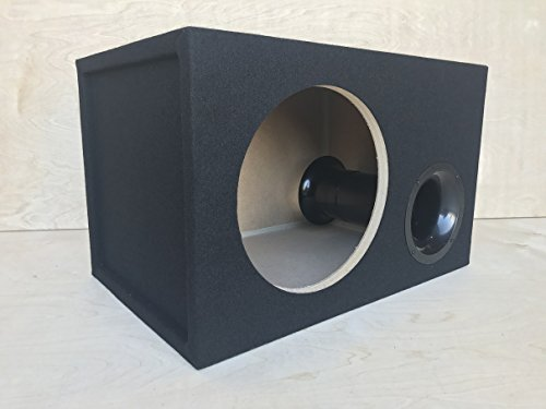 "Ported Sub Enclosure Box for a 12"" Skar Audio EVL EVL-12 Subwoofer - 4"" Aeroport - 32 Hz - 2.0 CF"