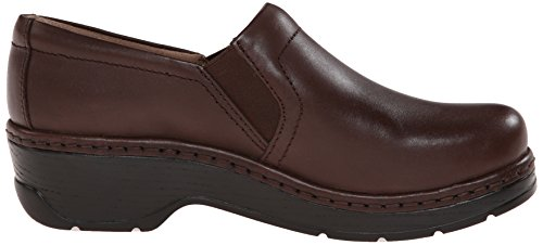 Klogs Usa Womens Naples Coffee Mule Liscio