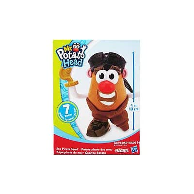 Mr. Potato Head Little Taters Sea Pirate Spud: Toys & Games