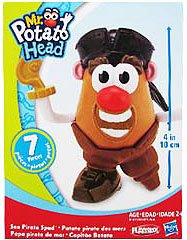 Pirate Mr Potato Head (Mr. Potato Head Little Taters Sea Pirate)