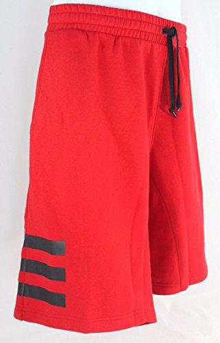 adidas Originals 3 Stripe Cardinal Red AI3601 Mens Shorts (Cardinal 3 Stripe)