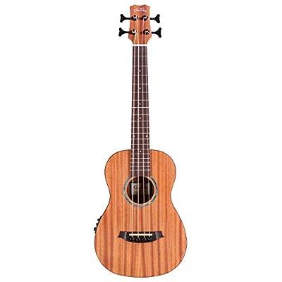 Cordoba Guitars 4 String Acoustic-Electric Bass Guitar, Right, Natural, (Mini II MH-E)