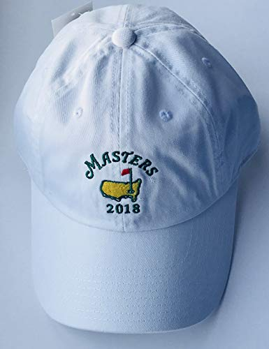 Masters Caddy Hat - 2018 Masters golf hat white Augusta National new American needle pga