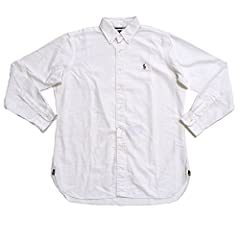 Ralph Lauren is the pinnacle of style and design. This classic fit oxford shirt is the perfect way to stay classy.