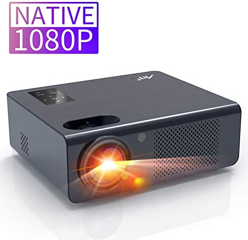 Movie Projector, Artlii Full HD 1080P Home Theater Projector, LED Projector with HiFi Stereo and Screen Zooming…