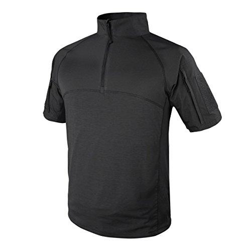 Condor Outdoor Tactical Short Sleeve Combat Shirt (XX-Large, Black)