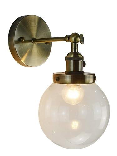 Amazon.com: JKLcom - Lámpara de pared con colgante vintage ...