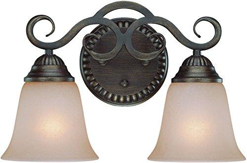Vanity Craftmade Lighting - Craftmade 26002-CB 2 Light Vanity