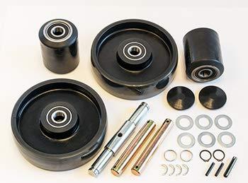 Complete Wheel Kit for Manual Pallet Jack - Fits Big Joe, Model ALT50
