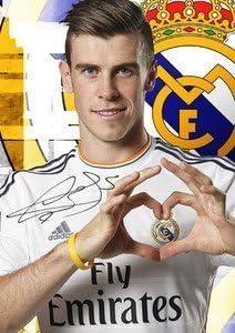 De motivación con Imagen - Gareth Bale firmado diseño de - REAL ...