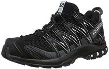 Salomon XA Pro 3D, Zapatillas de Trail Running para Hombre, Negro (Black/Magnet/Quiet Shade), 42 EU