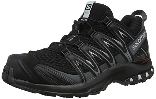 Salomon Men's XA PRO 3D Trail Running Shoe, Black, 10.5 M - Running Fire Shoe Road