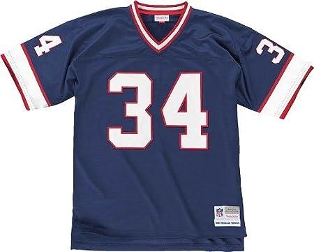 ce4c4c42 Amazon.com: Buffalo Bills Mitchell & Ness 1990 Thurman Thomas #34 Replica  Throwback Jersey (XXL): Clothing