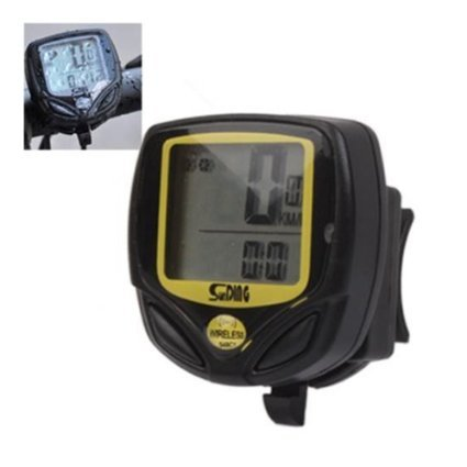 DLLL Wireless Waterproof LCD Mountain Bike Cycling Bicycle Computer Odometer Speedometer - Multi Function: Speed Comparator & Average Speed & Maximum Speed & Relative Speed & Riding Time & Riding Distance & Total Riding Distance
