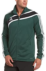 adidas Men's Tiro Training Jacket , Forest/ Black/ White, XXX-Large
