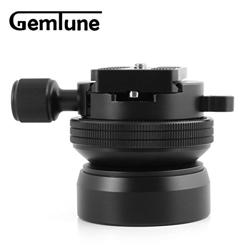 Gemtune Leveling Base DY-60i with Quick Release Clamp and plate