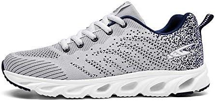 Shoe house Zapatillas de Running para Hombre, de Malla, Transpirables, Ligeras, para Deportes, Caminar, Entrenamiento, A, EU40=US7(M): Amazon.es: Deportes y aire libre
