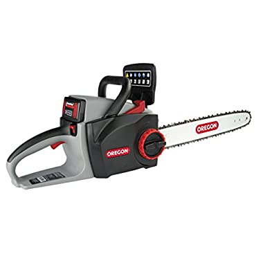 Oregon Cordless 40V CS300-E6 Chain Saw with 2.4 Ah Battery and Charger