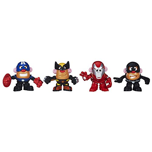 Mr Potato Head Marvel Mixable Mashable Heroes Marvel Super Hero Collector Pack Toy for Kids from Mr Potato Head