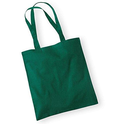 Westford MillBorsa in cotone con lunghi manici Bottle Green
