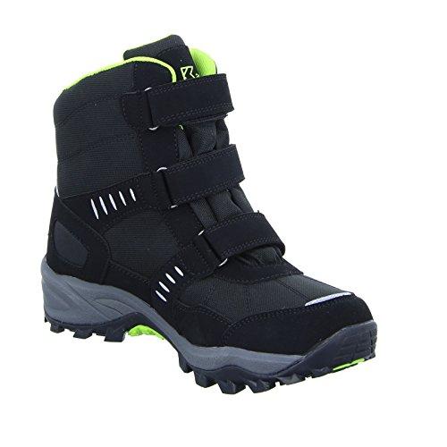 Kastinger Outdoor Stiefel SNOWTRACK 1, Farbe: Schwarz/Lime Schwarz/Lime