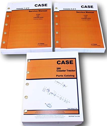 - Case 350 Crawler Dozer Service And Parts Catalog Manuals Engine Repair Shop