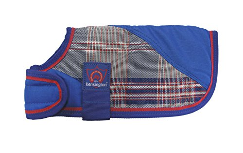 - Kensington Signature Plaid 1200 Denier Dog Coat Turnout Blanket, Small, Patriot Plaid