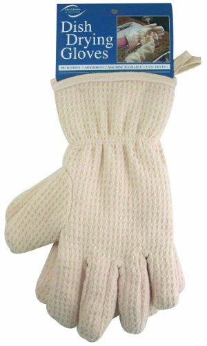 Envision Home Microfiber Drying Gloves product image