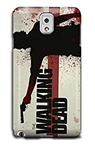 Tomhousomick Custom Design The Walking Dead Case for Samsung Galaxy Note 3 Phone Case Cover #77