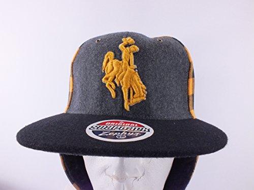 投げるシャンパンパンサーワイオミング州State Cowboys NCAA大人用オリジナルスナップバックトラッパーハットキャップ帽子d121