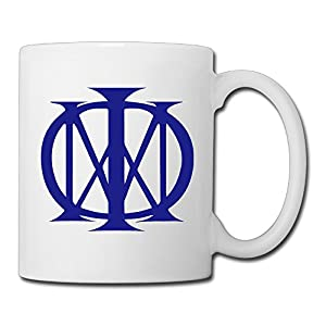 Christina Dream Theater Band Logo Ceramic Coffee Mug Tea Cup White