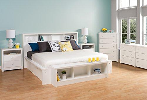 Bedroom Prepac Calla 6-Drawer Dresser, White