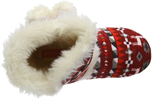 Dunlop Women's Adelphe Hi-Top Slippers Red (Red) vGGOq